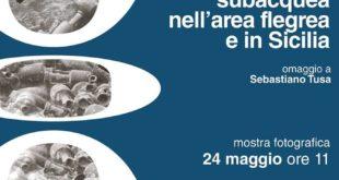 """VIDEO.Castello di Baia dal 24 maggio la mostra fotografica """"I pionieri dell'archeologia subacquea nell'area Flegrea ed in Sicilia"""""""