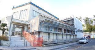 Foto. Iniziati i lavori di ristrutturazione del municipio di Monte di Procida