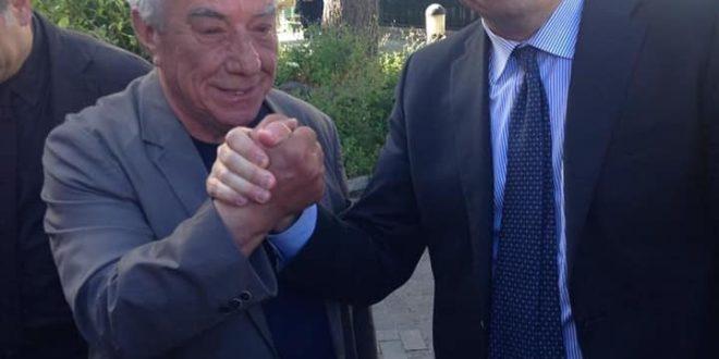 Giuseppe Scotto di Luzio incontro a Pozzuoli con Zingaretti e De Luca. Video e Foto