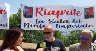 Flash mob per l'apertura delle sale e dei siti chiusi del Parco Archeologico dei Campi Flegrei.VIDEO