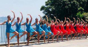"""A Villa Ferretti spettacolo di danza The Element della """"Revolution Gym""""."""