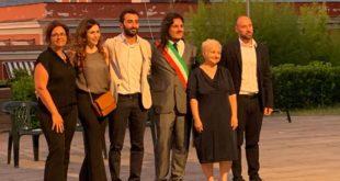 Villa Ferretti ecco la squadra di Josi Della Ragione sindaco di Bacoli.Le foto e il video