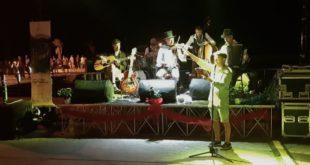 Una poesia per Monte di Procida letta da Gigi Bignone a Acquamorta al Pozzuoli Jazz Festival.Video