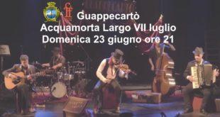 Guappecartò, Domenica 23 giugno, Acquamorta, Pozzuoli Jazz Festival