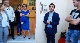 Apertura a Villa Matarese della rassegna Nomoi  intervista a Dina Stella. Video
