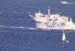TRAFFICO A MARE A CAPO MISENO le Barche ritornano dalle Isole di Ischia e Procida. Video