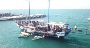 Grande successo per Boat Party Monte di Procida all' Isolotto di San Martino.Interviste Video