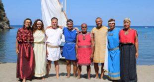 Greci a San Montano ennesima impresa di Vela latina Monte di Procida