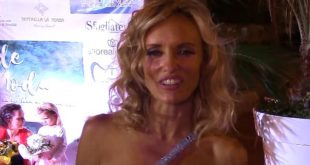"Justine Mattera a Acquamorta per ""Onde di Moda"" l'interviste. Video Paco Smart"