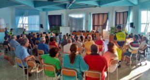 Monte di Procida. Rischio Campi Flegrei incontro con la Protezione Civile per l'esercitazione del mese di ottobre.Video