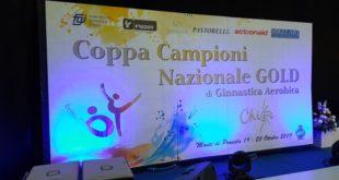 Monte di Procida. Due giorni di grande ginnastica aerobica al Pala Pippo Coppola .Video