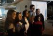 Monte di Procida. L'attore Lino Guanciale a Acquamorta con le ragazze della Vespucci .Video