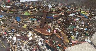 Porto di Baia. I danni della mareggiata di stanotte