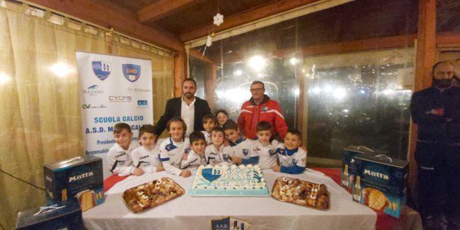 """VIDEO. Monte Calcio ecco la novità: gli allenamenti per i più piccoli alla palestra """"Romeo"""""""