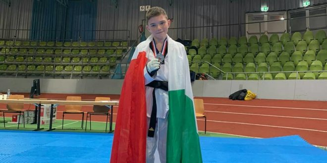Un montese Emanuele Vittorio Maturo si laurea vice campione d'europa di Taekwondo