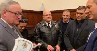 Il sindaco Peppe Pugliese incontra il sindaco di Philadelfia.