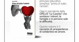 """Ecco il libro per La Casetta """"Prima di tutto l'amore"""""""