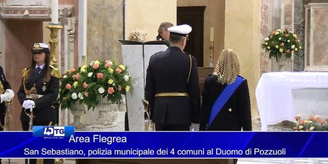 Alla cattedrale del Rione Terra la Polizia Municipale celebra San Sebastiano. Video