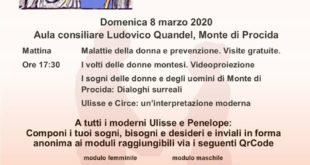 MONTE DI PROCIDA. 8 MARZO ODISSEA E SOGNI MONTESI.  L'ODISSEA DI VELA LATINA. VIDEO