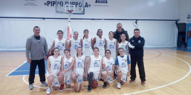 Grande vittoria delle ragazze dellaVirtus Monte di Procida under 14.