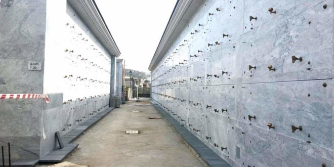 Cimitero di Cappella, 600 nuove nicchie. L'estrazione il 5 marzo alla sala Ostrichina