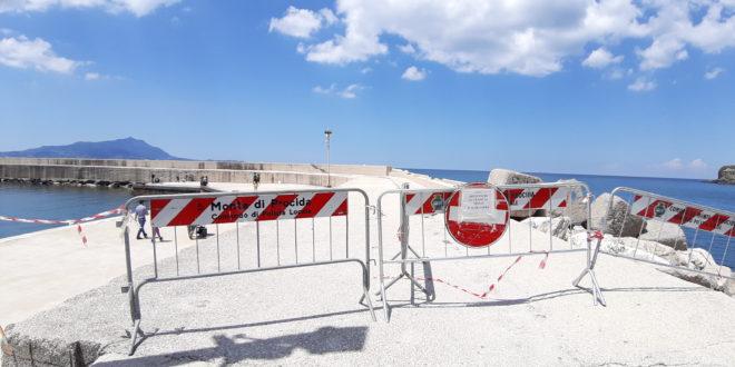 Pontili e moli chiusi a Torregaveta e Acquamorta fino al 2 giugno.