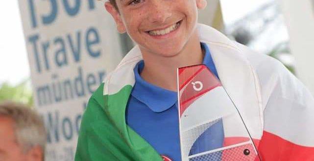 Premiato a Roma il giovane velista montese  Manuel De Felice.