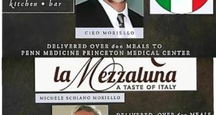 Video. 600 pasti per gli ospedali in Usa  da Ciro Moriello e Michele  Moriello.
