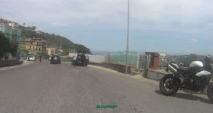 Monte di Procida. Scooter coinvolto in un incidente in via Salita Torregaveta .