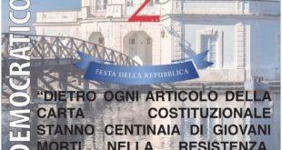 Festa della Repubblica. PD di Bacoli.
