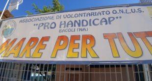 """Video. Al via a Miseno """"Un mare per tutti"""" della Pro Handicap."""