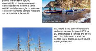 Operazione Quandel 2020, Navigazione a vela latina lungo costa da Monte di Procida a Gaeta