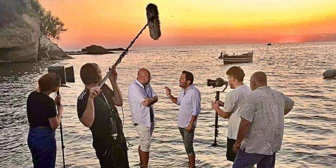 Il regista Enzo Acri : mi sono innamorato dei vostri panorami.