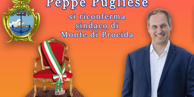 Peppe Pugliese si riconferma sindaco di Monte di Procida