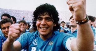 Napoli. Intitolato lo Stadio a Diego Armando Maradona