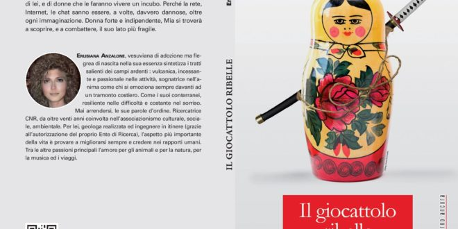 Il giocattolo ribelle, il primo libro di Erlisiana Anzalone. Intervista con la scrittrice