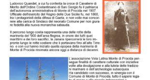 Operazione Quandel, navigazione a vela latina lungo costa da Monte di Procida a Gaeta