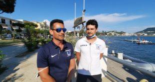 """Campionato Italiano """"Serie A"""" di Canoa Polo al Lago Miseno di Bacoli. Video Intervista ad Alessandro Carannante del Canoa Club Napoli."""