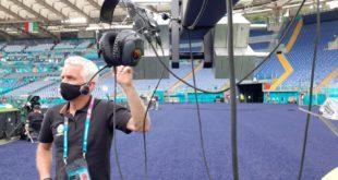 Europei di calcio. Claudio Crimani, un montese dietro le telecamere per tutte le partite dell'Italia