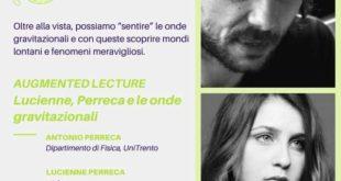Il ritorno al teatro in presenza a Trento di Lucienne Perreca e del papà Antonio Perreca