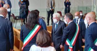 Il Presidente della Repubblica Mattarella visita il Rione Terra e incontra i sindaci Flegrei