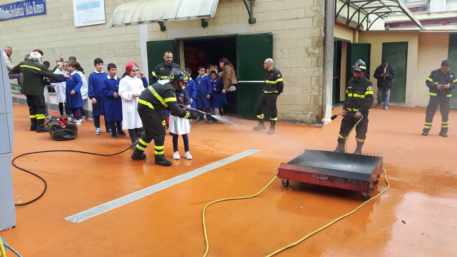 Pompieropoli Al Il Circolo Didattico Di Monte Di Procida