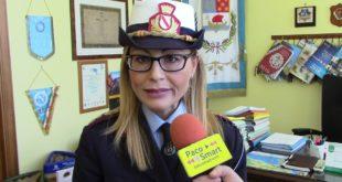 Il comandante della Polizia Municipale di Bacoli ringrazia il commissario Tarricone. Video