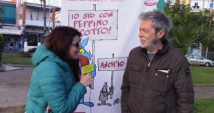 Il famoso fumettista di Lupo Alberto Giudo Silvestri con Giuseppe Scotto di Luzio. Video