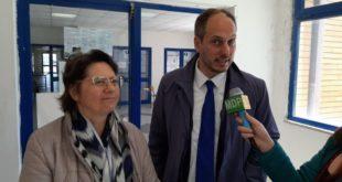 Liceo Seneca. Incontro contro il tabagismo con il sindaco Pugliese Respira bene tour.Video