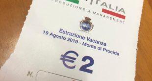"""Lotteria """"Città di Monte di Procida"""": ecco il biglietto vincente"""