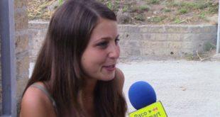 L'attrice flegrea Lucienne Perreca alla Mostra del Cinema di Venezia.Intervista esclusiva. Video