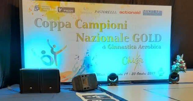 """Monte di Procida. Al Pala """"Pippo Coppola"""" i Campionati Nazionali Gold di Aerobica"""