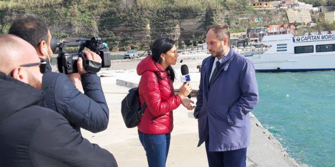 La Rai a Miliscola e Monte di Procida per i danni del Maltempo il video della diretta.