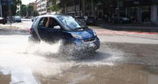Pozzuoli.Maltempo, Il sindaco  Figliolia chiederà per Pozzuoli lo stato di emergenza.